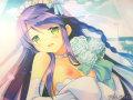 「恋咲く都に愛の約束を」おっぱいが見えてエロエロなウェディングドレス